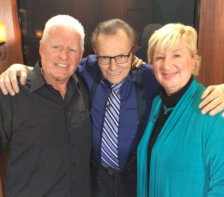 Legendary talk show host, Larry King, interviewed us about Passion 4 Life and Passion 4 K.I.D.S. What an honor!